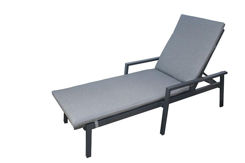 San Remo Sunlounge with Cushion - robcousens Outdoor Furniture Factory direct