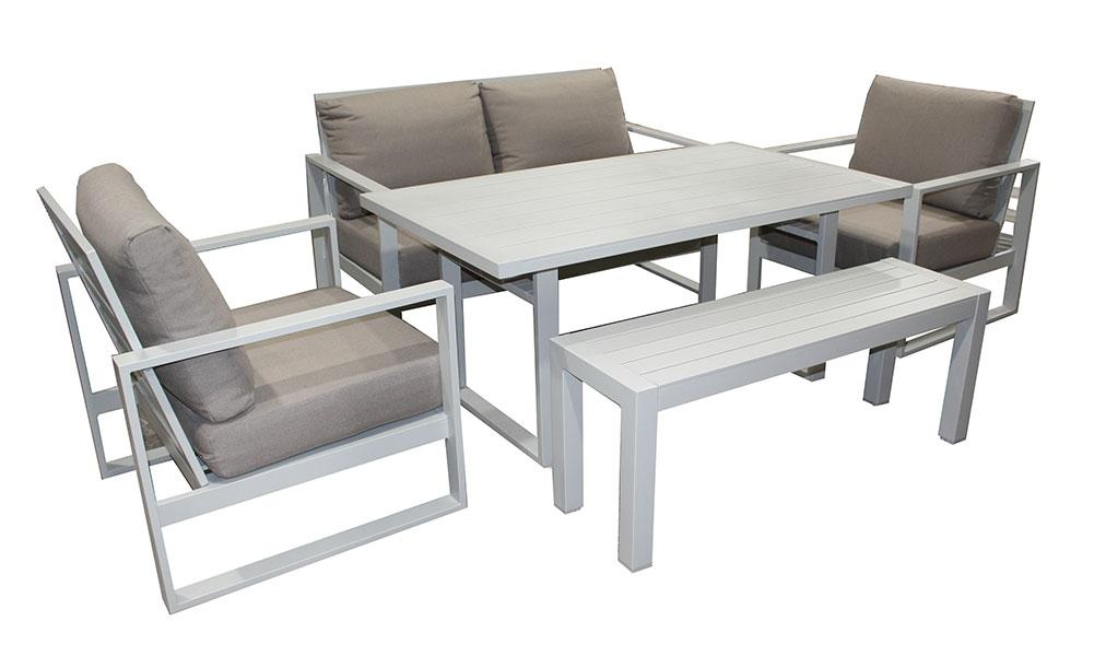 Torquay 5pc Double Cafe Set - robcousens Outdoor Furniture Factory direct