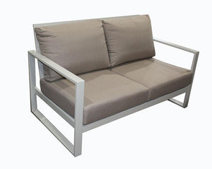 Torquay Double Sofa Dove Grey - robcousens Outdoor Furniture Factory direct