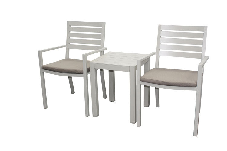 Trieste 3pc Balcony set-Dove