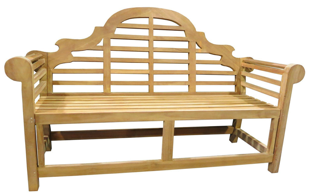 Grand Cayman Teak Bench's - robcousens Outdoor Furniture Factory direct