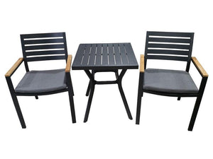 Santos Portsea 3pc Setting GM - robcousens Outdoor Furniture Factory direct