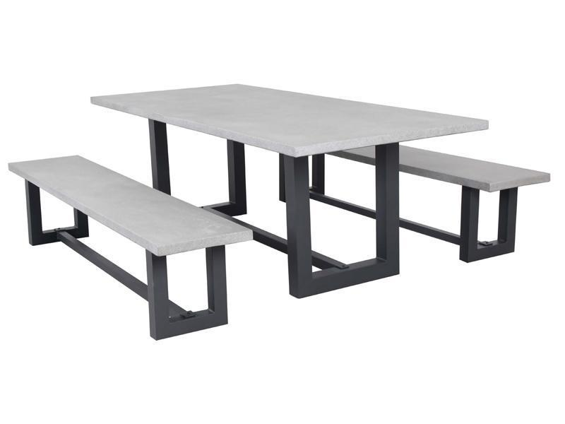 Manhattan 3pc Bench Collection - robcousens Outdoor Furniture Factory direct