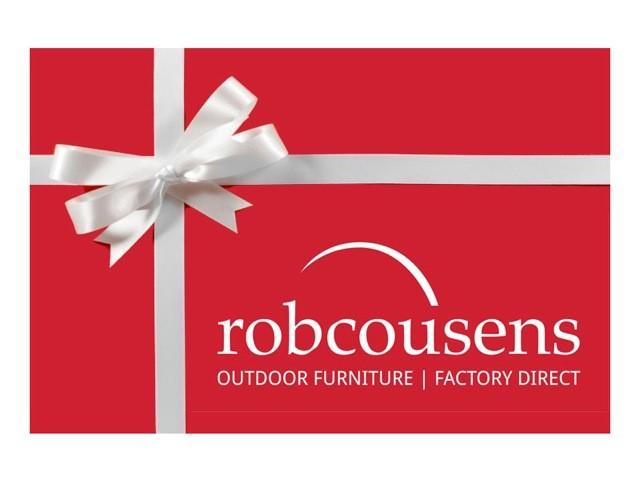 Gift Card - robcousens Outdoor Furniture Factory direct