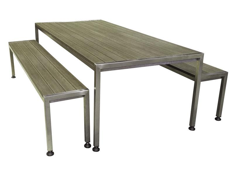Urban Bench Set - robcousens Outdoor Furniture Factory direct