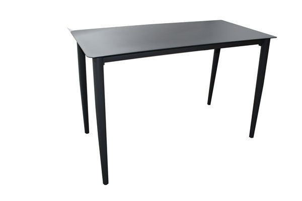 Hawthorn Bar Table 1450 x 700mm Gunmetal