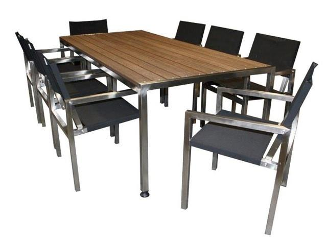 Outdoor Furniture 9pc Urban Dining Sets - robcousens Outdoor Furniture Factory direct
