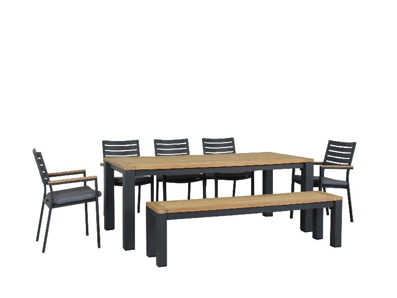 Santos 7pc Bench Combination set GM - robcousens Outdoor Furniture Factory direct