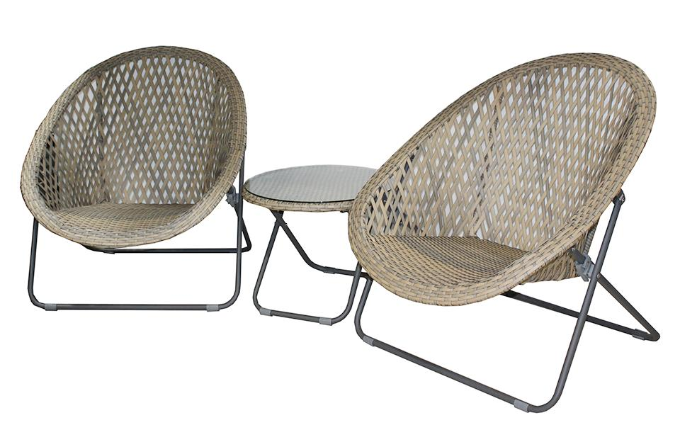 Siesta 3pc Pool side set - robcousens Outdoor Furniture Factory direct