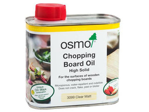 Chopping Board oil - Clear Matt 500mls - robcousens Outdoor Furniture Factory direct
