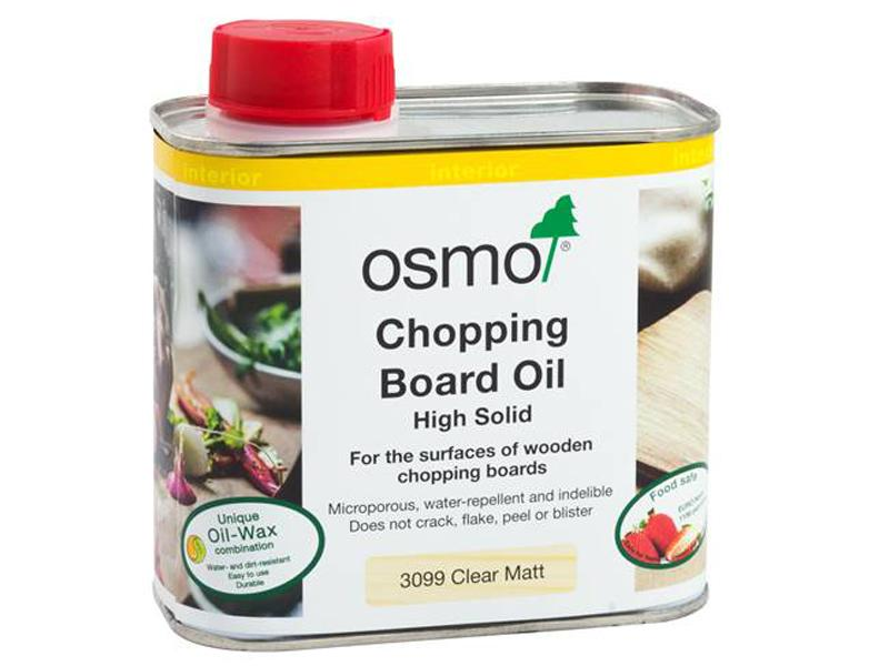 Osmo Chopping Board oil - Clear Matt 500mls - robcousens Outdoor Furniture Factory direct