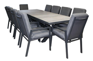 San Remo Cushion Justin 11pc - robcousens Outdoor Furniture Factory direct