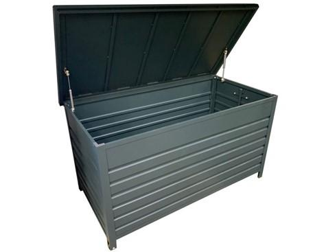 Portsea Storage Box Gun Metal - robcousens Outdoor Furniture Factory direct
