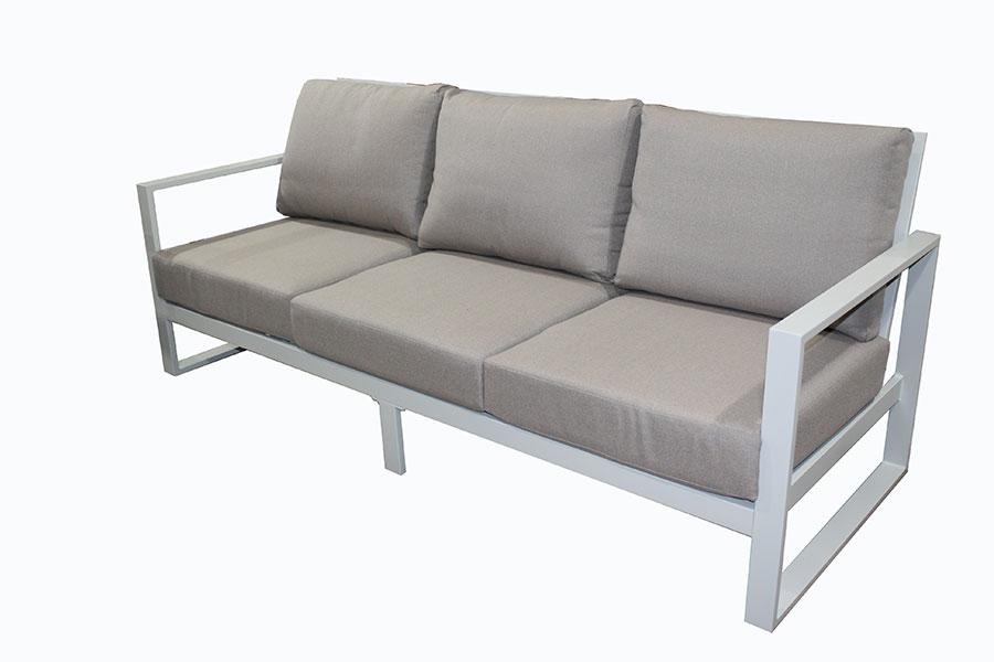 Torquay Triple sofa  Dove Grey - robcousens Outdoor Furniture Factory direct