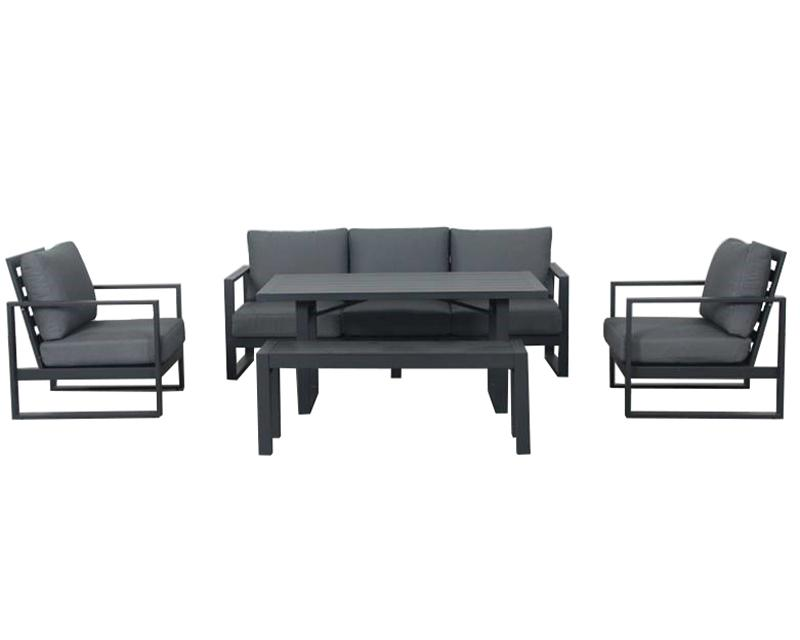 Torquay 5pc Triple Cafe Set - robcousens Outdoor Furniture Factory direct