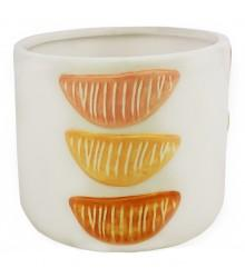 Amber Planter White Small 12cm - robcousens Outdoor Furniture Factory direct