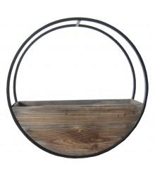 Circle Wall planter Brown Medium - robcousens Outdoor Furniture Factory direct
