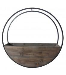 Circle Wall planter Brown Large - robcousens Outdoor Furniture Factory direct