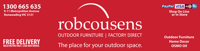 robcousens Outdoor Furniture Melbourne