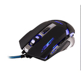 Mouse Gamer USB 1800 DPI Retroiluminado Ultra
