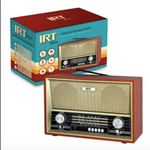 Radio Retro Vintage Recargable Bluetooth Usb IRT