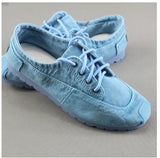 2020 Summer New Style  Women's Singles Shoes Old Beijing Cloth Shoes Denim Canvas Shoes +Pure hand embroidered insole