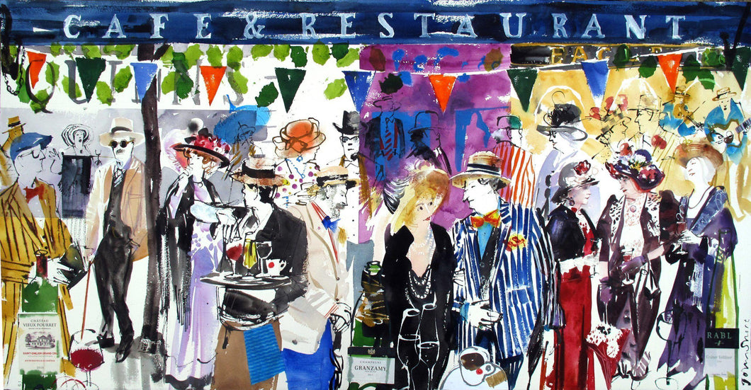 Bloomsday In Blue For Sale - John Short Irish Visual Artist