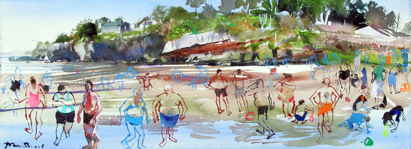 Lawlor's Beach - John Short Irish Visual Artist