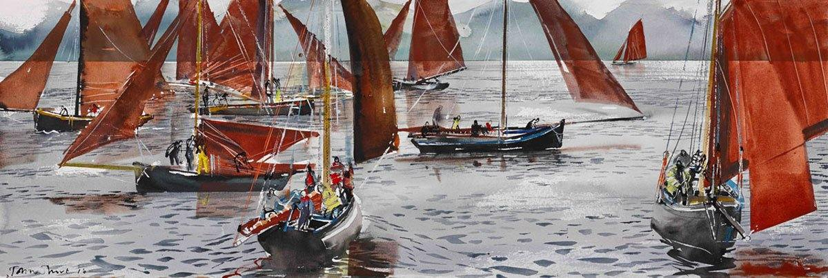 Regatta - John Short Irish Visual Artist