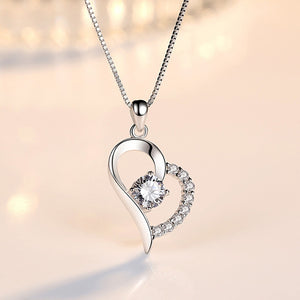 Open image in slideshow, Cute Heart Necklace