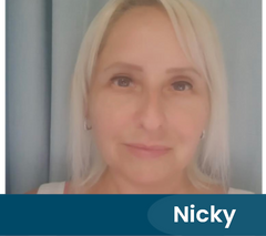 Nicky - a UK Therapy Guide Therapist