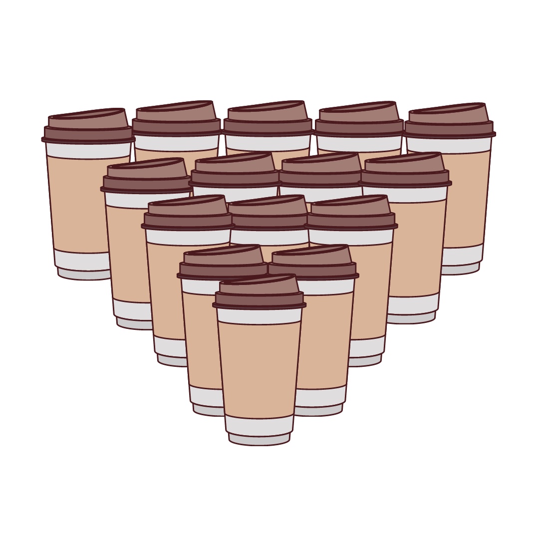7 + cups