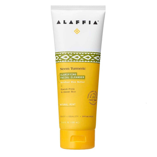 Alaffia Neem Turmeric Clarifying Facial Cleanser - Ethnic District