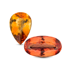 Citrine and Topaz are birthstones for the month of October