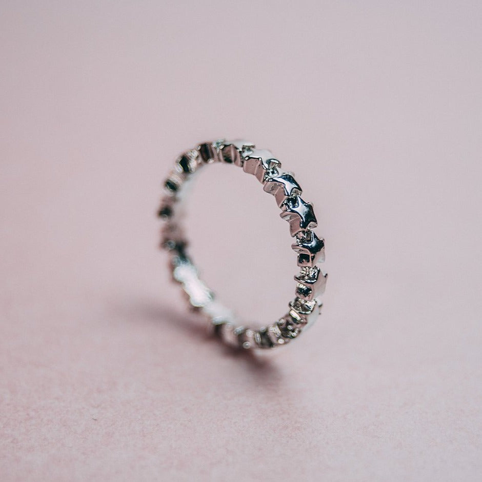 Aurora Eternity Ring