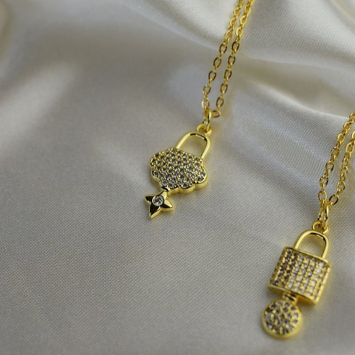 Royalty Lock Necklace