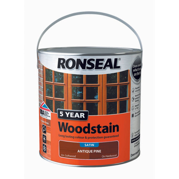 5 Year Woodstain 2.5L Antqiue Pine