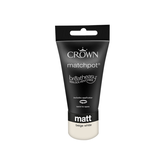 Crown Matt Beige White 40ML