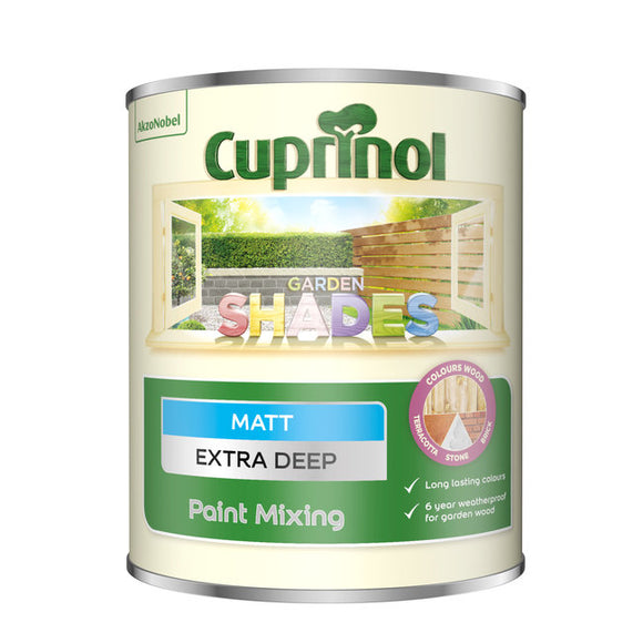 Cuprinol Garden Shades Extra Deep Base 1L