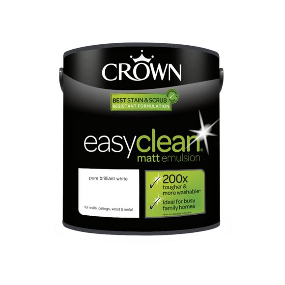 Crown Easyclean Matt Emulsion PBW 2.5L