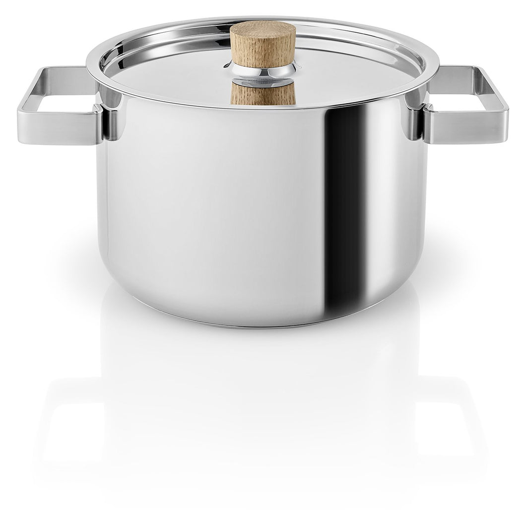 Nordic Kitchen Stainless Steel Pots, 3.0/4.0/6.0 Liter
