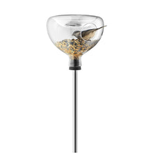 Load image into Gallery viewer, Glass Bird Feeder with Integrated Bath