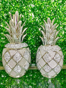 Silver Pineapple - kitchen decor