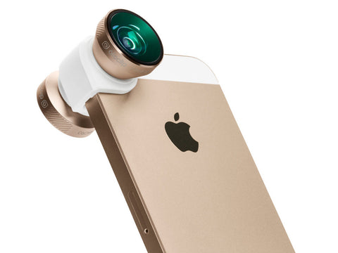 Olloclip 4-IN-1 Lens System for iPhone 5 / 5S - Gold