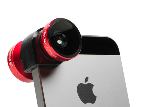 Olloclip 4-IN-1 Lens System for iPhone 5 / 5S - Red