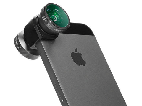 Olloclip 4-IN-1 Lens System for iPhone 5 / 5S - Space Grey