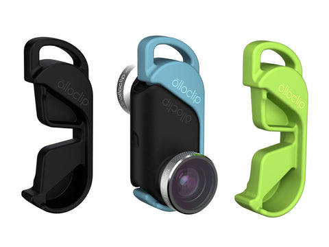 Olloclip 4-in-1 Lens System For iPhone 6 / 6 Plus - silver / black