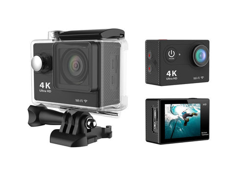 Powakit 4k Action Camera With Accessories