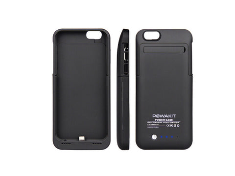 PowaKit PowerCase 3000mAH Battery Case For iPhone 6 / 6S