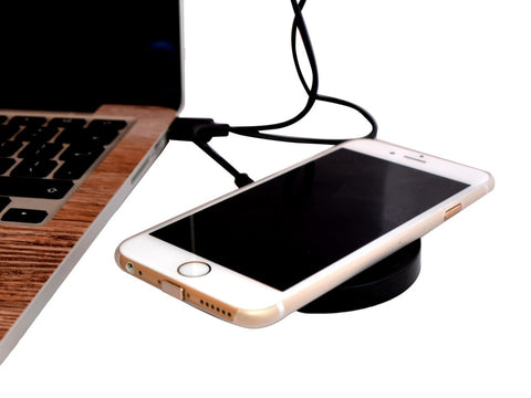 Qi Wireless Charging Kit for iPhone - Wireless Charging Adapter and Pad
